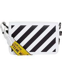 Off-White c/o Virgil Abloh - Mini Diagonal Stripe Shoulder Bag - Lyst