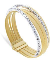 Marco Bicego - Yellow Gold And Diamond Five Strand Masai Bracelet - Lyst