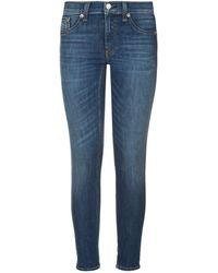 Rag & Bone - Capri Skinny Jeans - Lyst