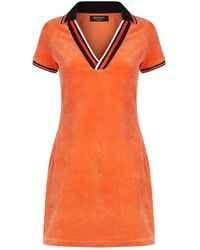 Juicy Couture | Velour Polo Dress | Lyst