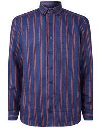 Zilli - Linen Stripe Shirt - Lyst