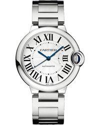 Cartier - Stainless Steel Ballon Bleu De Automatic Watch 36mm - Lyst