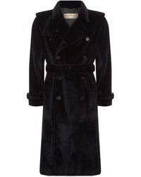 Burberry - Mink Fur Trench Coat - Lyst
