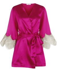 Gilda & Pearl - Bloomsbury Short Kimono - Lyst