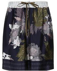 Meng - Silk Satin Shorts - Lyst