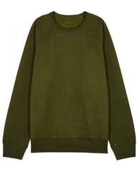 Our Legacy - Green Reversible Jersey Sweatshirt - Lyst