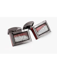 Tateossian - Diamond Dust Cufflinks - Lyst