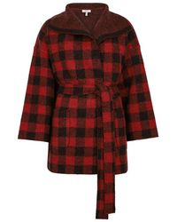 Joie - Ismael Checked Wool-blend Jacket - Lyst