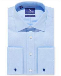 Chester Barrie - Herringbone Dobby Shirt - Lyst