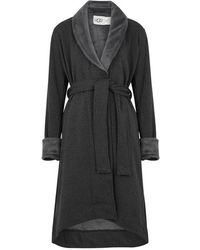 UGG - Duffield Ii Fleece-lined Cotton Jersey Robe - Lyst