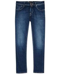 Jacob Cohen - J622 Limited Edition Blue Slim-leg Jeans - Lyst