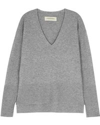 By Malene Birger - Accina Wool And Cashmere-blend Jumper - Lyst