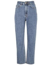 Ksubi - Chlo Blue High-rise Cropped Jeans - Lyst