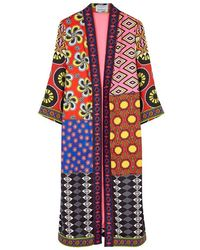 Alice + Olivia - X Carla Kranendonk Lynn Printed Kimono - Lyst