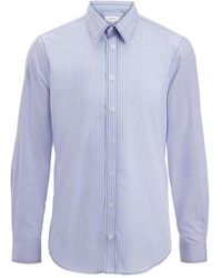 Joseph | Blue Stripes Moriston Shirt | Lyst