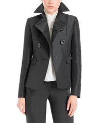 Leon Max - Heavy Satin Tailored Jacket - Lyst