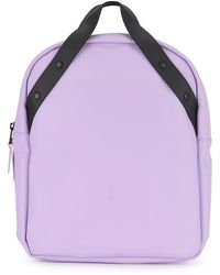 Rains - Backpack Go Waterproof Matte Shell Backpack - Lyst