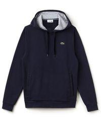 Lacoste - Sport Cotton Blend Hoodie - Lyst