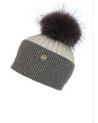 Popski London - Angora Hat - Lyst