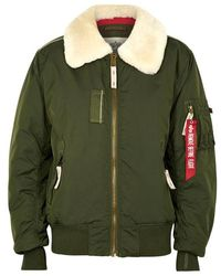 0214f4099 Alpha Industries Injector Iii Padded Shell Bomber Jacket - Lyst