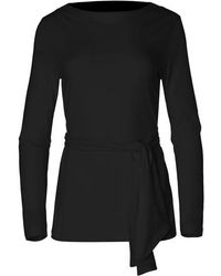 LIVOTTE - Ava Longsleeve With Self Belt - Lyst