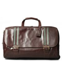 Maxwell Scott Bags - Dinol Leather Duffle Bag - Lyst