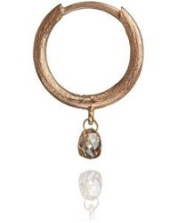 Annoushka - Hoopla Diamond Hoop Earring - Lyst