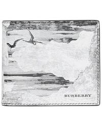 Burberry - Dreamscape Print Leather International Bifold Wallet - Lyst