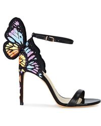Sophia Webster - Chiara Winged Leather Sandals - Lyst