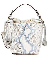 Kate Spade - Hayes Street Pippa Leather Bucket Bag - Lyst