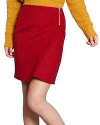 Cacharel - Zip Skirt - Lyst