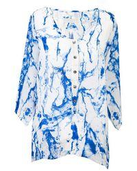Octavia Hix - Novello Shirt Glacier Blue - Lyst