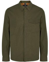 PS by Paul Smith - Army Green Shell Jacket - Lyst