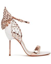 Sophia Webster - Evangeline Winged Leather Sandals - Size 5 - Lyst