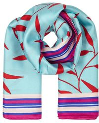 Diane von Furstenberg - Shelton Printed Silk Twill Scarf - Lyst
