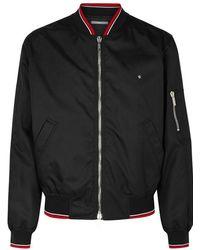 Dior Homme - Black Shell Bomber Jacket - Lyst