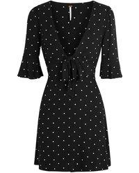 Free People - All Yours Polka-dot Jersey Mini Dress - Lyst