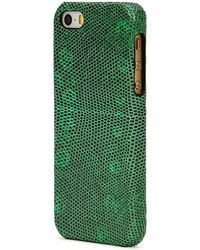 The Case Factory - Iguana-effect Leather Iphone 5/5s/se Case - Lyst