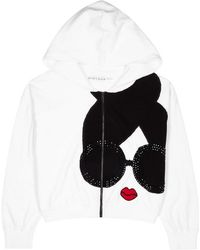 Alice + Olivia - Kyle Stace Face Knitted Sweatshirt - Lyst