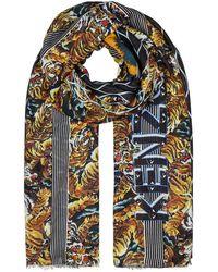 KENZO | Tiger-print Modal Scarf | Lyst
