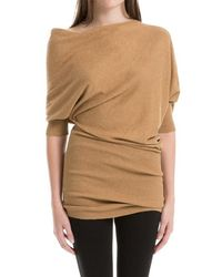 Leon Max - Knitted Asymmetrical Jumper Dress - Lyst
