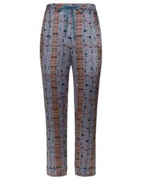 Meng - Silk Satin Pyjama Bottoms - Lyst