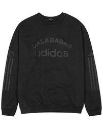Yeezy - Calabasas Printed Cotton Sweatshirt - Lyst