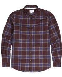 Norse Projects | Osvald Checked Cotton Shirt | Lyst