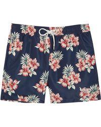 J.Lindeberg - Floral-print Swim Shorts - Lyst
