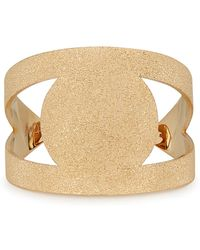 MFP MariaFrancescaPepe - 23kt Gold-plated Eye Cuff - Lyst