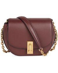 Marc Jacobs - West End Jane Burgundy Leather Shoulder Bag - Lyst