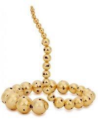 Paula Mendoza - Joos 24kt Gold-plated Bracelet - Lyst
