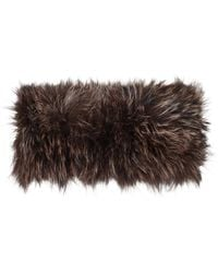 Hockley - Candy Brown Fur Wrap - Lyst