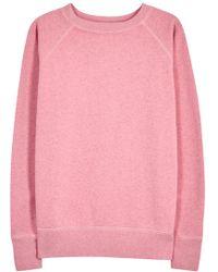 Étoile Isabel Marant Billy Pink Cotton Blend Sweatshirt
